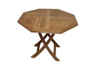 FI-015 Oct. Folding Table 90cm