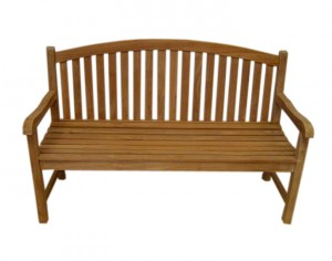 FI-025 Garden Bench Oval Up 180cm