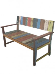 FDC-009 Bench boat wood 90x120x60cm