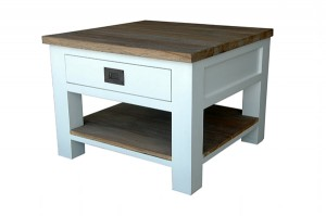 FCT-004 Coffee table 1drw + shelf 45x60x60cm